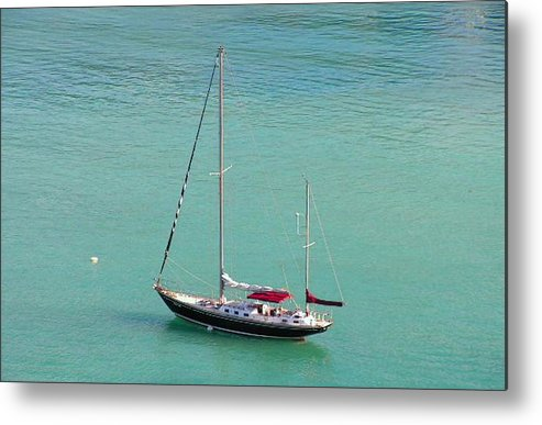 Photography Metal Print featuring the photograph Boat by Katina Cote