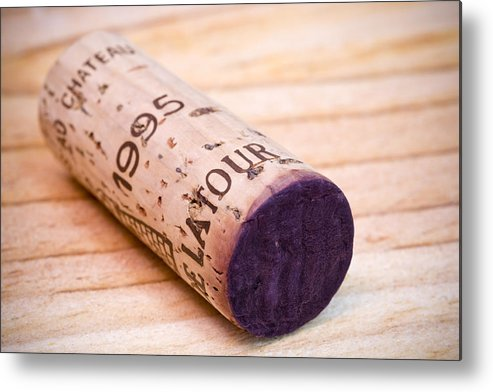 Bordeaux Metal Print featuring the photograph Bordeaux Wine by Frank Tschakert