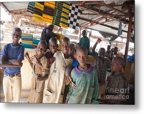Mali Metal Print featuring the photograph Boyhood by Irene Abdou