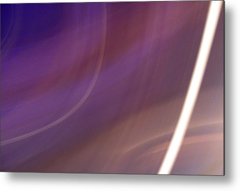 Violet Metal Print featuring the photograph Breakfast On Jupiter by Ilan and Oxana Aelion