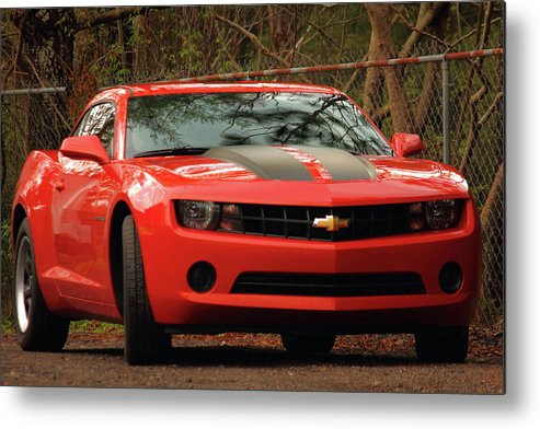 Chevy Camero Metal Print featuring the photograph Brute by Jamie Smith