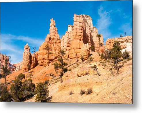 Bryce Metal Print featuring the photograph Bryce Canyon by Jacek Joniec