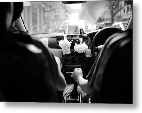 Metal Print featuring the photograph Bw 046 by Kam Chuen Dung