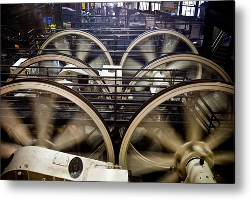 Cable Car Metal Print featuring the photograph Cable Car Museum by Patrick Flynn