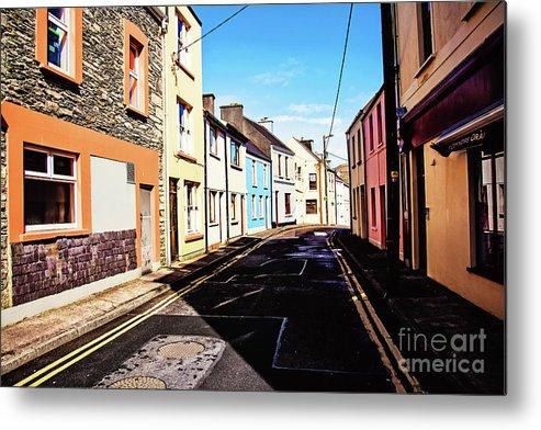 Ireland Metal Print featuring the photograph Cahersiveen Street by Scott Pellegrin