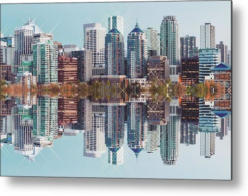 Calgary Metal Print featuring the photograph Calgary, Part 2 by Julius Reque