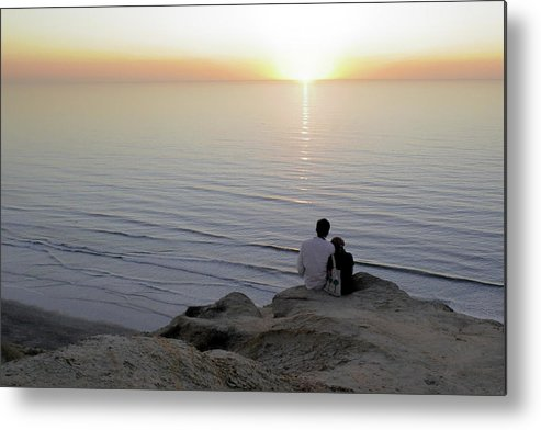 Pacific Metal Print featuring the photograph California Dreaming by Christine Till