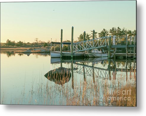 Weekapaug Metal Print featuring the photograph Calm Morning by Heidi Piccerelli