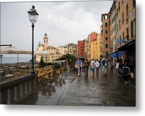 Italy Metal Print featuring the photograph Camogli 3 by Luigi Barbano BARBANO LLC
