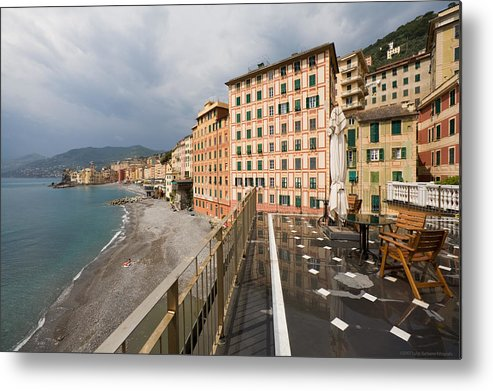 Italy Metal Print featuring the photograph Camogli 4 by Luigi Barbano BARBANO LLC