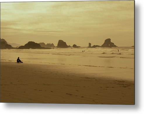 Metal Print featuring the photograph Cannon Beach 3 by Marcel Van der Stroom