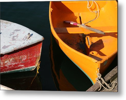 Cape Ann Metal Print featuring the photograph Cape Ann Boats by Linda Russell