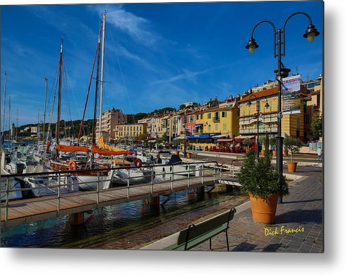 Harbor Metal Print featuring the photograph Cassis by Dick Francis