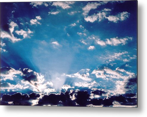 Clouds Metal Print featuring the photograph Catalina Sunrise by Greg Taylor