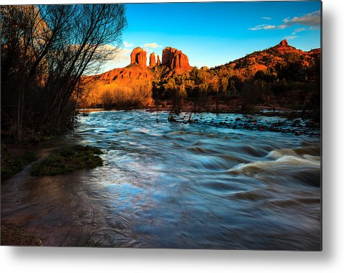 Cathedral Rock Metal Print featuring the photograph Cathedral Rock 8 by Ben Graham