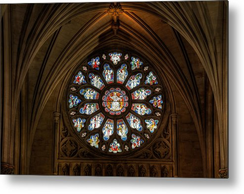 Cathedral Metal Print featuring the photograph Cathedral Window by Adrian Evans