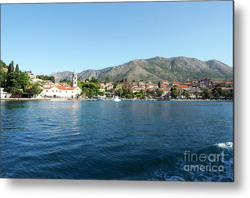 Cavtat Metal Print featuring the photograph Cavtat, Croatia by Moshe Torgovitsky