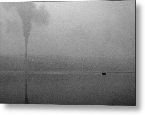 Solitude Metal Print featuring the photograph Cayuga Solitude by Jean Macaluso