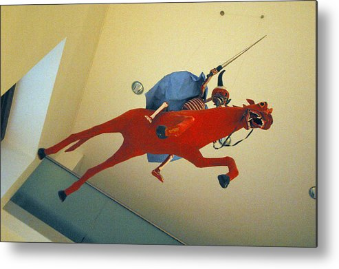 Jez C Self Metal Print featuring the photograph Charge To Death by Jez C Self