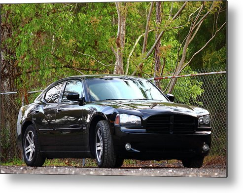 Dodge Charger Metal Print featuring the photograph Charger by Jamie Smith
