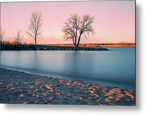 Cherry Creek Metal Print featuring the photograph Cherry Creek First Light by Chris Augliera