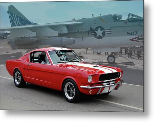 Ford Metal Print featuring the photograph Choose Your Weapon by Bill Dutting