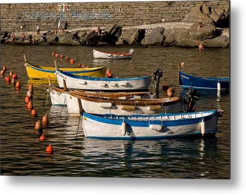 Italy Metal Print featuring the photograph Cinque Terre by Carl Jackson