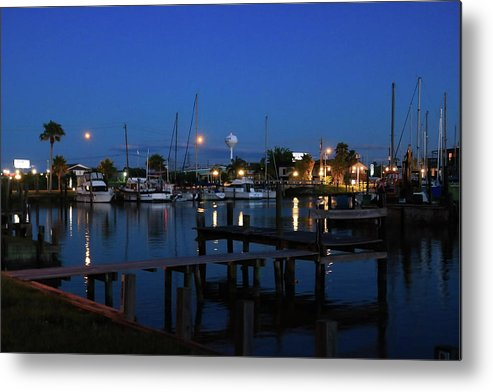Pier Metal Print featuring the photograph Clear Lake Shores,tx by Burge Darwin