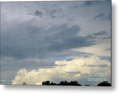 Storm Clouds Metal Print featuring the photograph Cloud Cover by Erin Paul Donovan