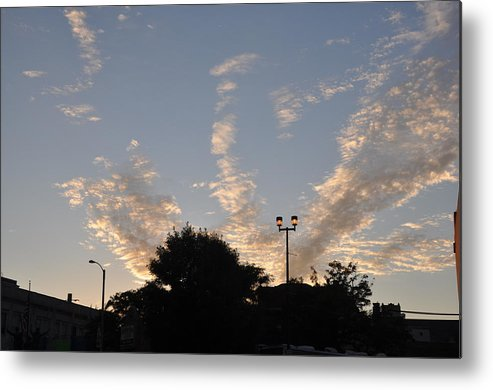 Clouds Metal Print featuring the photograph Cloud Symphony by Daniel Ness