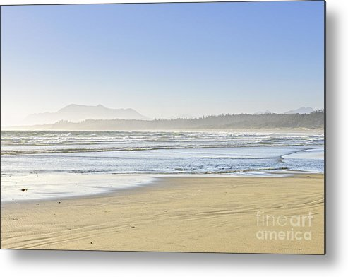 Pacific Metal Print featuring the photograph Coast Of Pacific Ocean On Vancouver Island by Elena Elisseeva