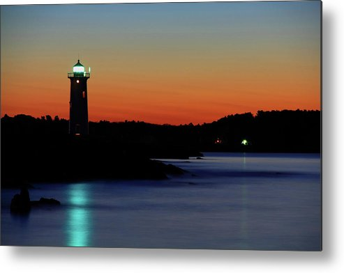 Coast Metal Print featuring the photograph Coastal Protection by Brian Pflanz