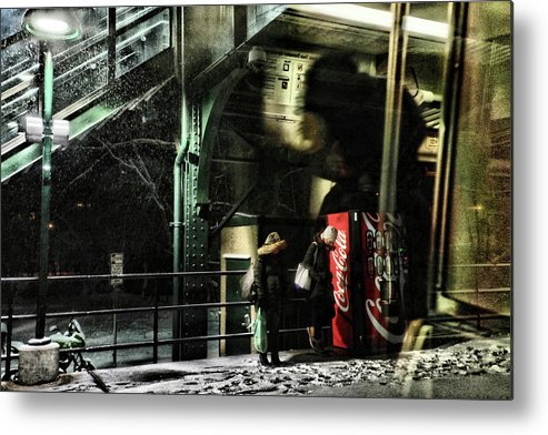 Stairs Metal Print featuring the photograph Coca-cola by Katia Lima