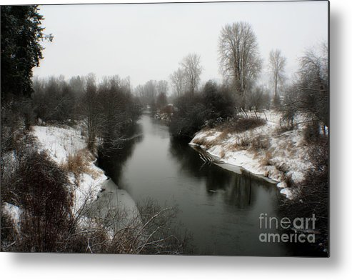 River Metal Print featuring the photograph Cold River by Idaho Scenic Images Linda Lantzy