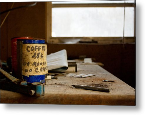 Abandonment Metal Print featuring the photograph Collections by Kevin Brett