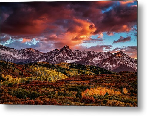 Mountain Metal Print featuring the photograph Colorado Color by Andrew Soundarajan