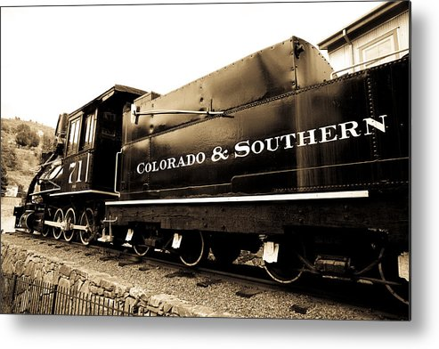 Central City Metal Print featuring the photograph Colorado Southern Railroad 1 by Marilyn Hunt