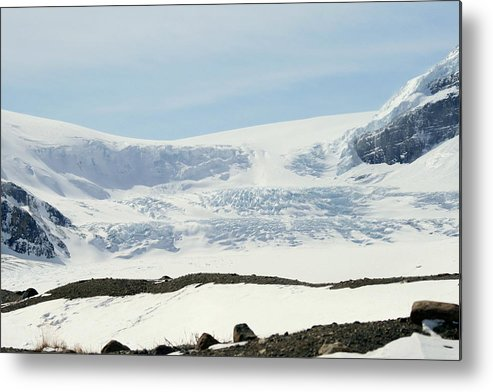 Glacier Metal Print featuring the photograph Columbia Icefields by Tiffany Vest