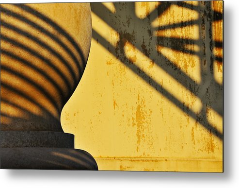 Architecture Metal Print featuring the photograph Comb Over by Skip Hunt
