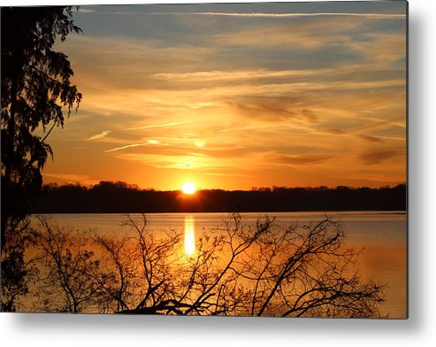 Sunrise Metal Print featuring the photograph Coming Up by Scott Carr