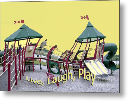 Playground Metal Print featuring the photograph Cornwall Play by Jacqueline Milner