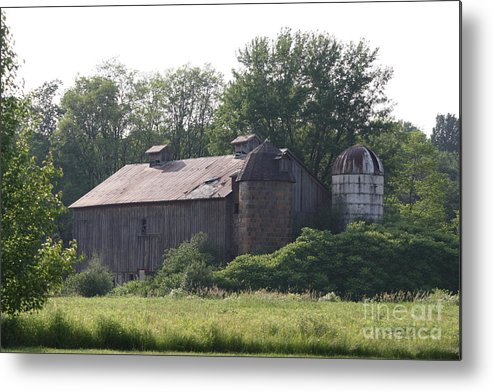 Country Metal Print featuring the photograph Country Barn by Jennifer Francisco