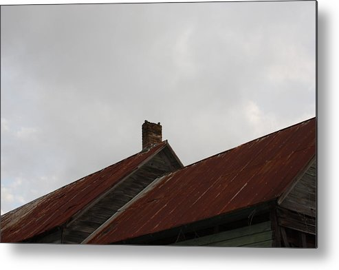 Sky Metal Print featuring the photograph Country Store Four by Paula Coley