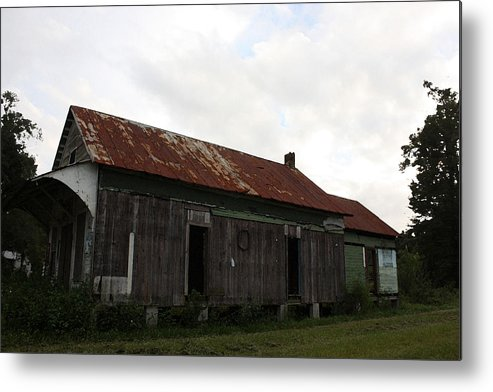 Digital Art Metal Print featuring the photograph Country Store Two by Paula Coley