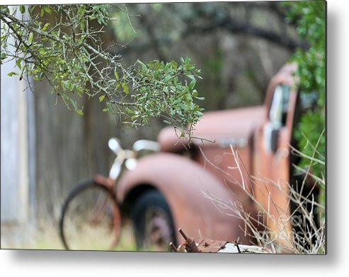 Metal Print featuring the photograph Country Truck by Jeff Downs