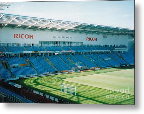 Coventry City Metal Print featuring the photograph Coventry City - Ricoh Arena - West Stand 1 - July 2006 by Legendary Football Grounds