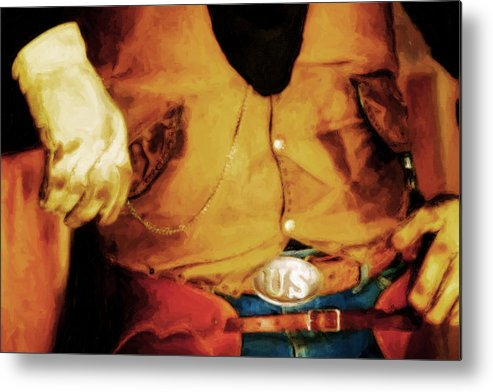 Colorado Metal Print featuring the photograph Cowboy Style by Nick Sokoloff