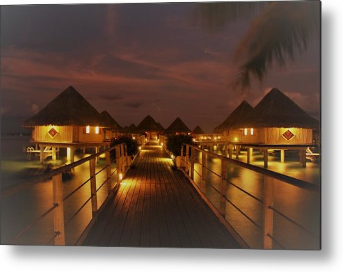 Metal Print featuring the photograph Cozy Cottages by Nick Difi