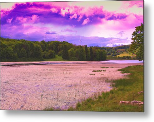 Scenic Cranberry Glade Lake Located In Lower Turkeyfoot Township Metal Print featuring the photograph Cranberry Glade Lake by Tammy McGogney