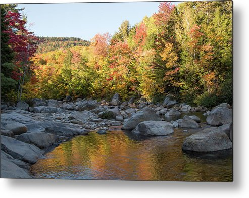 Fall Colors Metal Print featuring the photograph Crawford Notch State Park by Scott Ludgin